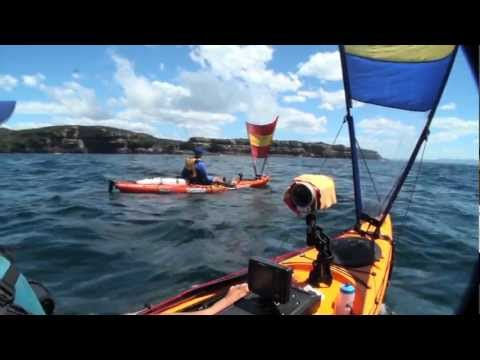 Pacific action sail on prowler 4.3 & 4.7.