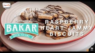Download lagu #BakarInspirasi: Raspberry Heart Jammy Biscuits.