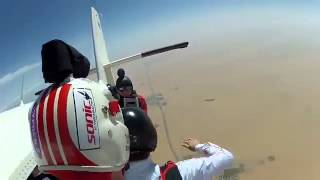Skydive Dubai 2012 GoPro HD Hero2   YouTube