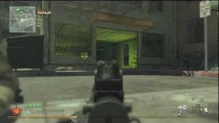 Modern Warfare 2 Multiplayer Search and Destroy (Rush Series) Tutorial for Skid Row Offense in HD