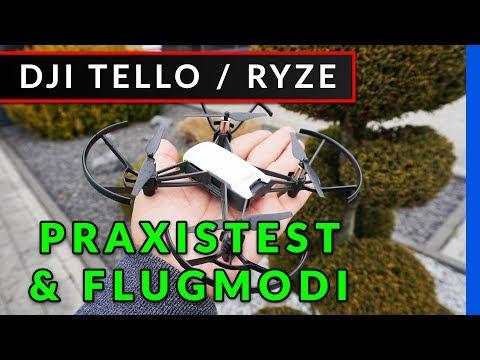 DJI Tello (Ryze) - Praxistest: Flips - Flugmodi - Funktionen der Drohne [Anleitung deutsch]