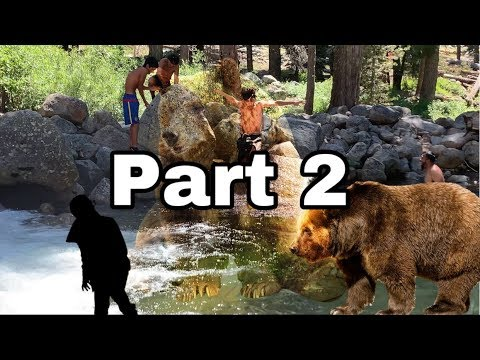 2bears Invade Our Campspot (insane!!!! Yelling)