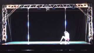 The Great MidWest Pole Dance Competition and Convention 2012 - Nadia Shariff