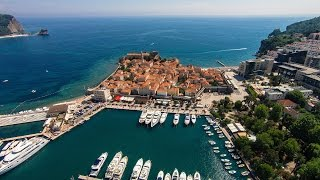 Flights in Montenegro. Crna Gora. All places in Montenegro. Part 1. Promo-Montenegro
