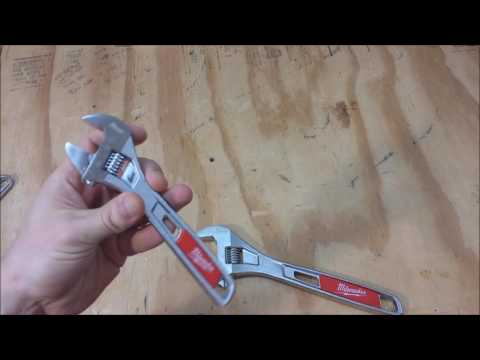Milwaukee Adjustable Wrench Review