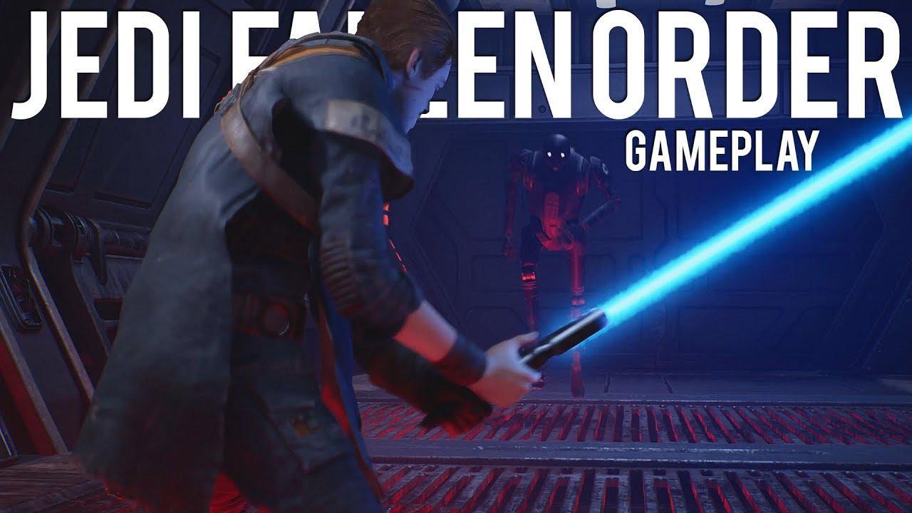 Star Wars Jedi Fallen Order Gameplay Erste Eindrücke + video