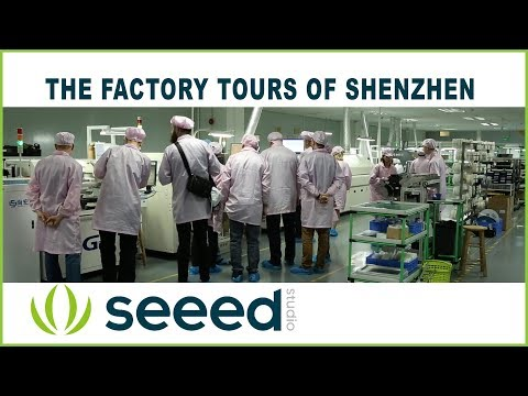 The Factory Tours of Shenzhen - SEEED Studios