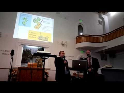 Dr. Andy McIntosh & Dr. Terry Mortenson - It's science against creationism?
