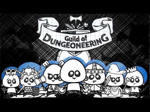 ENTER THE DUNGEON | Guild of Dungeoneering Gameplay Part 1