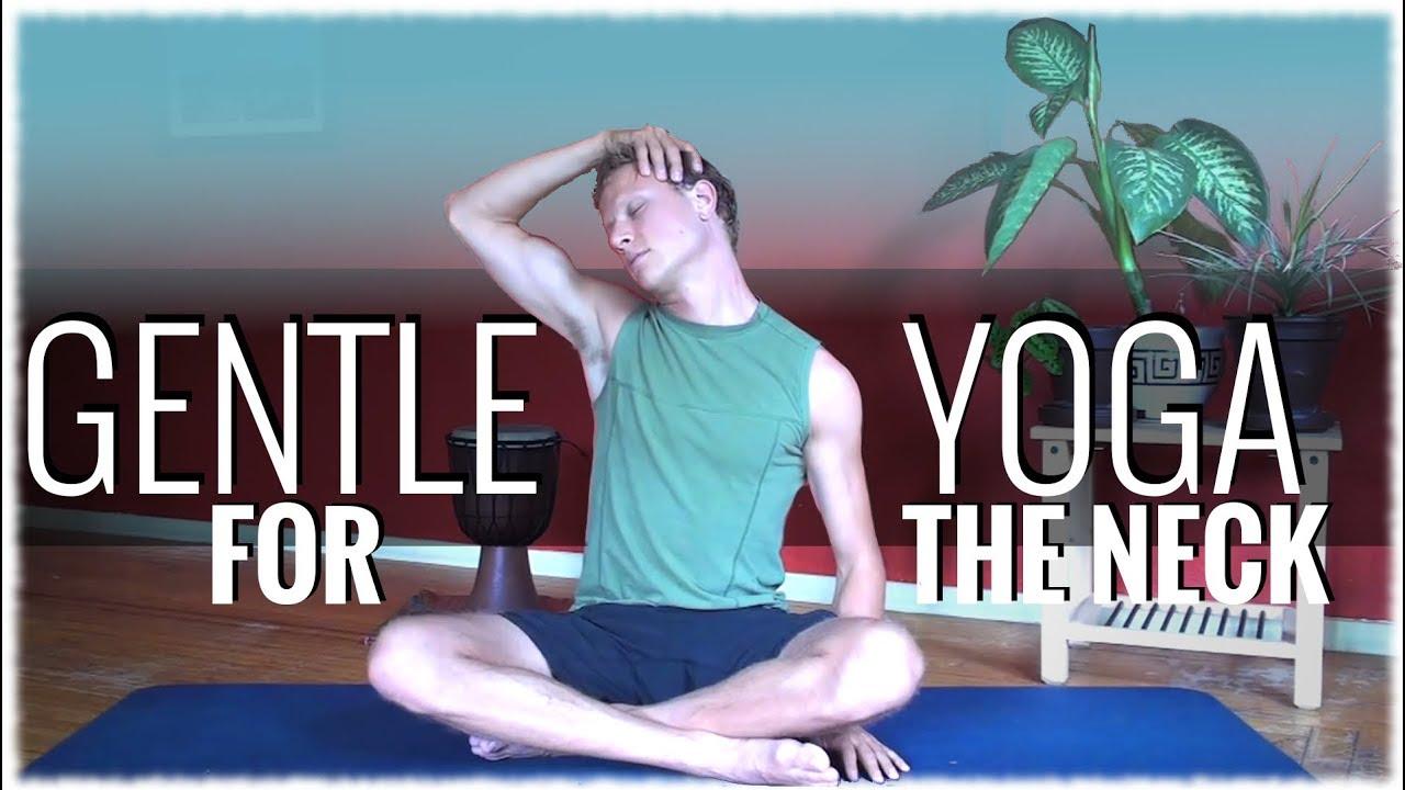 Hatha Yoga With David Procyshyn Gentle Yoga For The Neck Youtube