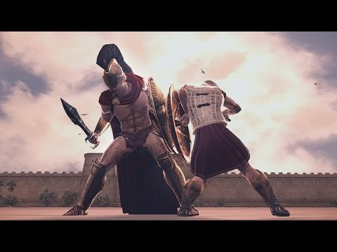 Leonidas of Sparta vs Hector of Troy Rome 2 Total War