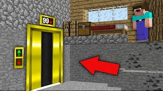 Minecraft NOOB vs PRO: OH! NOOB PUT AWAY FLOOR BUT WHERE DOES THIS LUXURY ELEVATOR LEAD? trolling