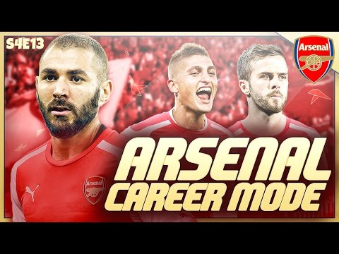 FIFA 16 ARSENAL CAREER MODE - S4E13 - EUROPA LEAGUE KNOCKOUT STAGES!