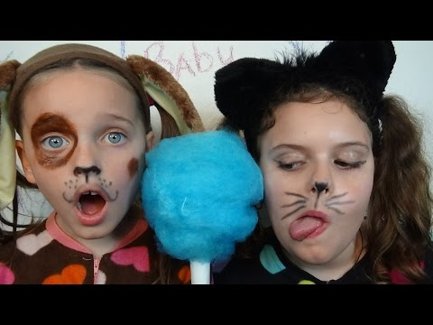 Thumbnail: Bad Baby Puppy & Kitty Victoria & Annabelle Freak Daddy Hidden Egg Gross