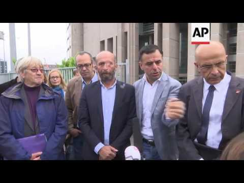 Journalists charged with aiding extremist group
