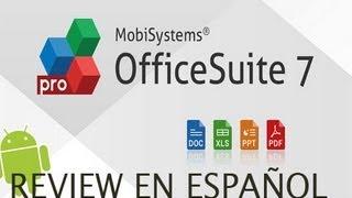 OfficeSuite Pro 7 para Android en Español
