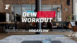 Fitness First Live Workout - YogaFlow mit Diarra