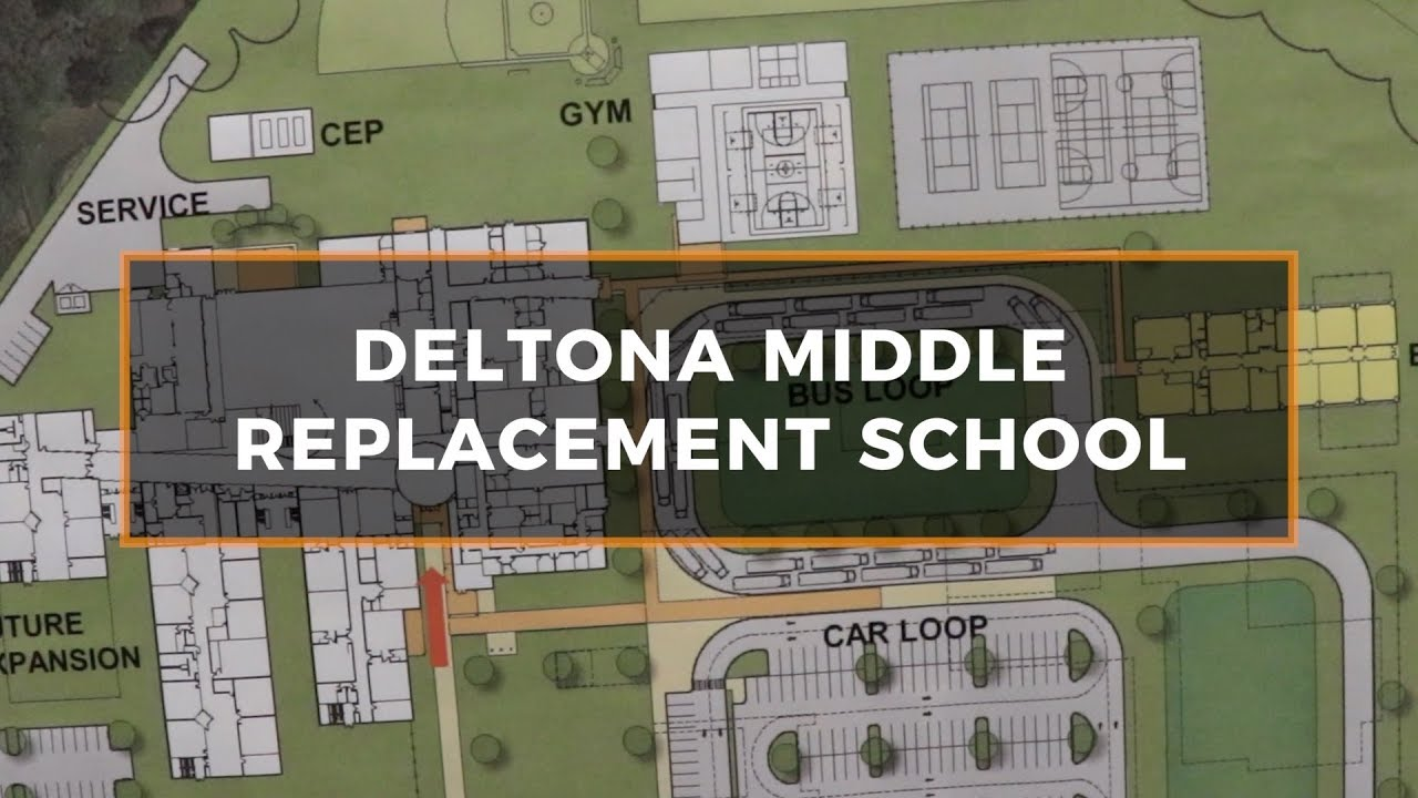 volusia county schools  deltona middle replacement school