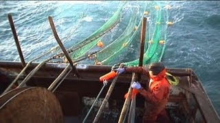Twin Rig Trawling - The Initial Setup