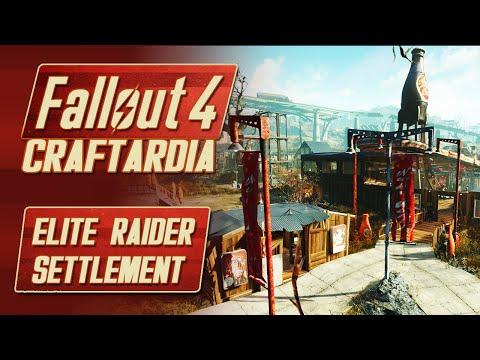Fallout 4 Nuka World DLC - Elite Raider Settlement - Fallout 4 Nuka World Red Rocket Settlement