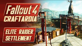 Fallout 4 Nuka World DLC - Elite Raider Settlement - Fallout 4 Nuka World Red Rocket Settlement