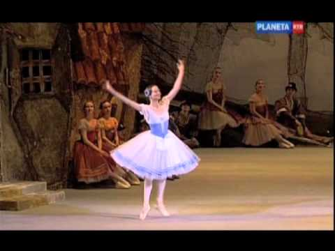 Nina Kaptsova promoted to Prima ballerina at the Bolshoi