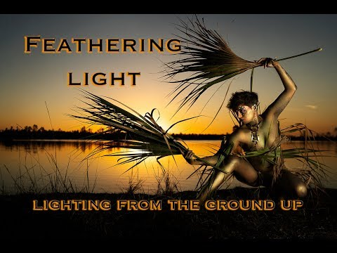 Feathering Light- Lighting from the Ground Up for Sky High Results!  Off Camera Flash Godox Ad600pro