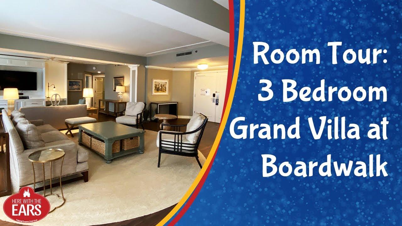 Boardwalk Villas 3 Bedroom Grand Villa Room Tour Youtube