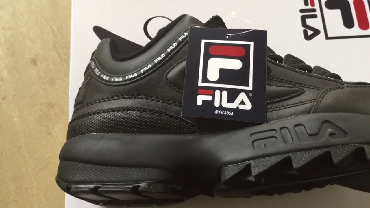Quick Look At The Fila Disruptor II Premium Repeat