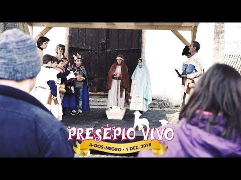 A-dos-Negros no Óbidos Vila Natal • Presépio Vivo