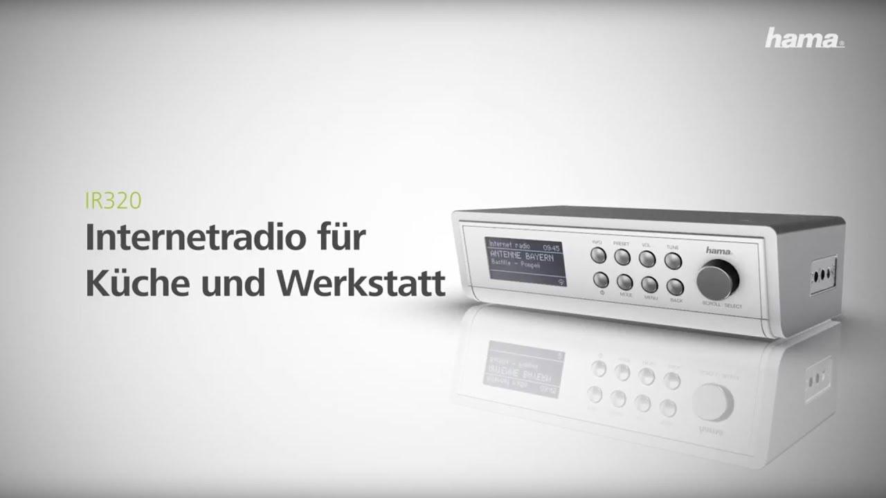 "Hama Internetradio ""IR20"", Weiß"