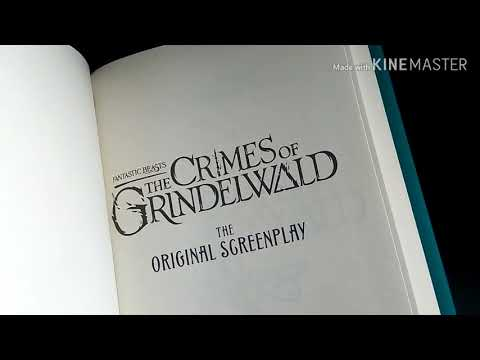 J.K. Rowling's Fantastic Beasts The Crimes Of Grindelwald Original Screenplay Review