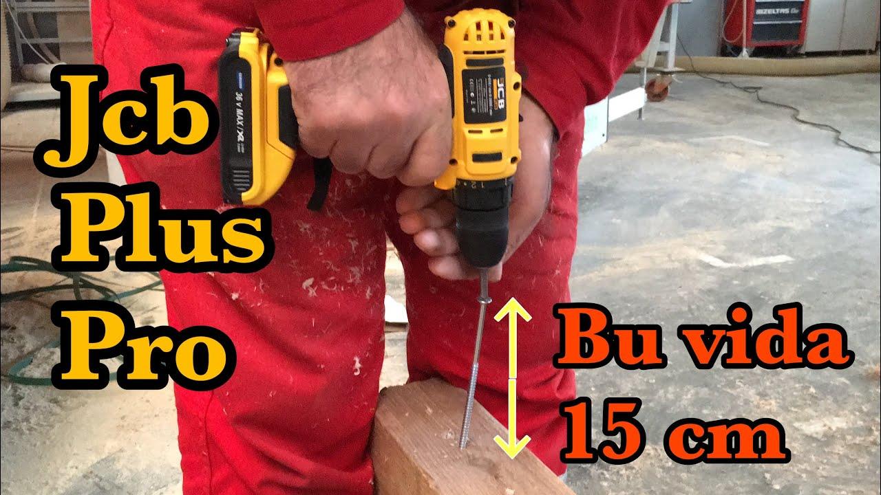 ASSUR 36 V 5 Ah  Darbeli Şarjlı Matkap Beton  Delme Testi