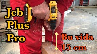 189 TL'ye Boyundan büyük Vida sıkan şarjlı matkap JCB Plus Pro. En zorlu testleri yaptım. VLOG