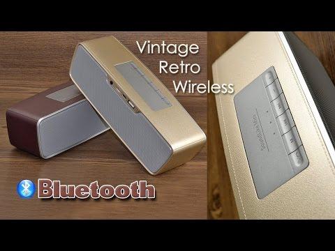 "ОБЗОР: Супер-стильная Bluetooth Колонка ""Vintage Retro Wireless"""