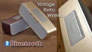 ОБЗОР: Супер-стильная Bluetooth Колонка