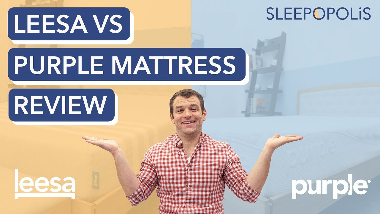 Buy Leesa Con Leesa Vs Purple Mattress Review Comparing Their Pros And Cons