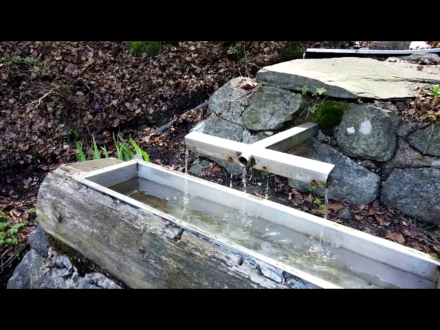 (Nr. 11) Wassertretbecken volgens de Kneipp methode