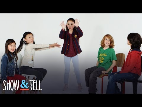 Hidden Talent | Show and Tell | HiHo Kids