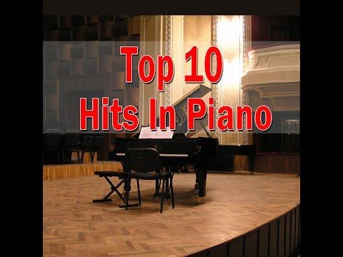 Top 10 Hits Piano Covers (Giuseppe Sbernini) | Piano Music