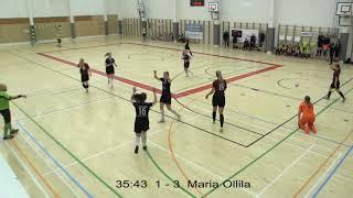 Naisten futsal-liiga 2019-2020 / Ylöjärven Ilves vs. FTK maalikooste 6.1.2020