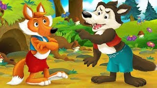 The Fox And The Wolf Story - Fairy Tales Full Episode 15 - Children's Books, Stories and Games