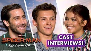 Tom Holland! Zendaya! Jake Gyllenhaal! Samuel L. Jackson! | Earth's Mightiest Show