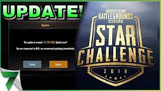 NEW RANDOM UPDATE & I'M IN THE STAR CHALLENGE BUT....   PUBG Mobile
