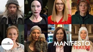 Manifesto (official trailer) / Cate Blanchett Movie