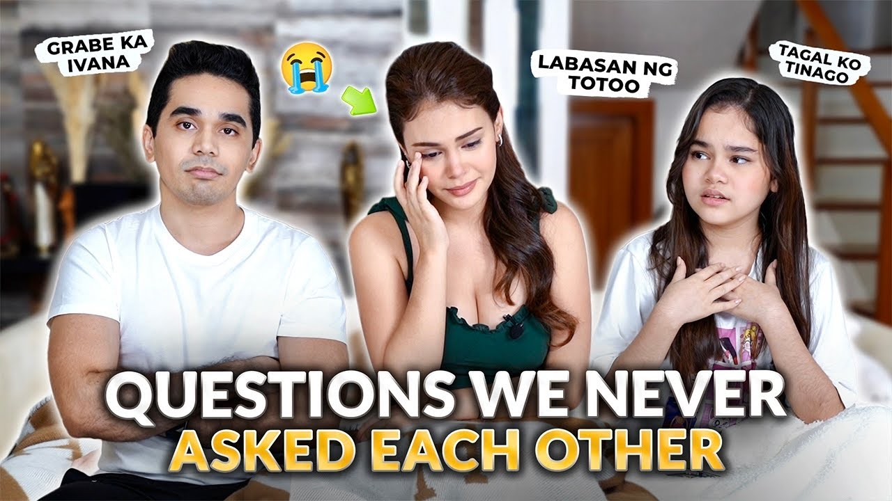 QUESTIONS I NEVER ASKED MY SISTER & BROTHER! | IVANA ALAWI