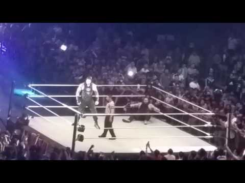 WWE Live Singapore Roman Reigns VS Bray Wyatt Full Match