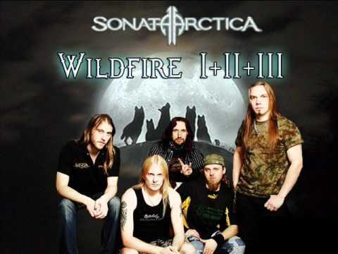 Sonata Arctica - Wildfire's I + II + III (HQ)