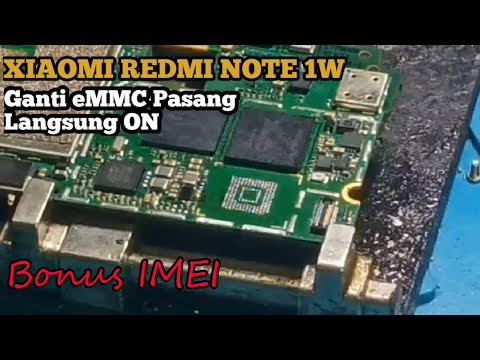 redmi-note-1w-ganti-emmc-16gb-kmvtu-langsung-on-&-bonus-imei