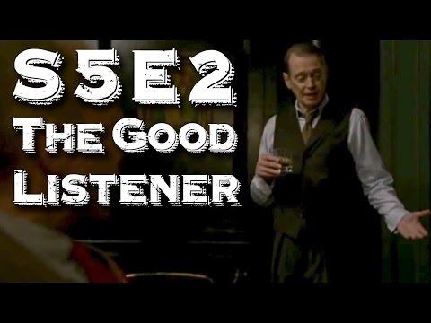 "Boardwalk Empire (S5E2) - ""The Good Listener"" Review"